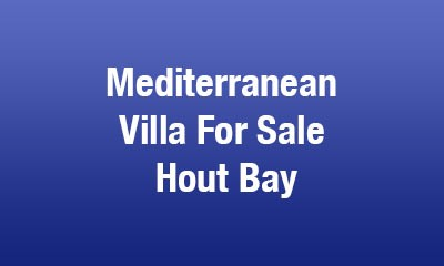 Cape Town Villa for Sale